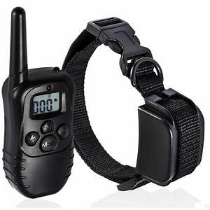 rechargeable remote dog training collar 330 yard radius With dog shock collar walmart