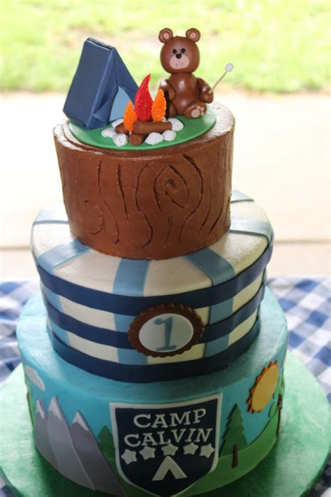 camping birthday party ideas pretty  party