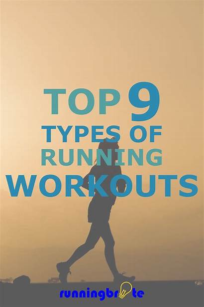 Running Workouts Types Different Training Fitness Run