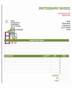 8 sample photography invoice free sample example With freelance photography invoice