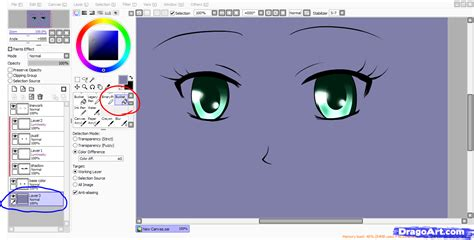 how to color paint tool sai step by step coloring