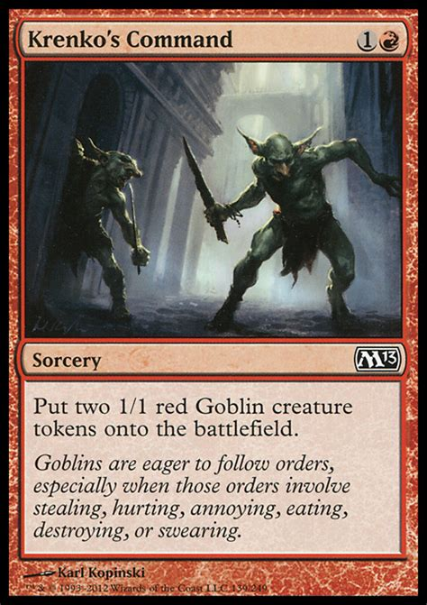 Goblin Commander Deck Wort by Proxies For Deck Quot Goblin Commander Quot Deckstats Net