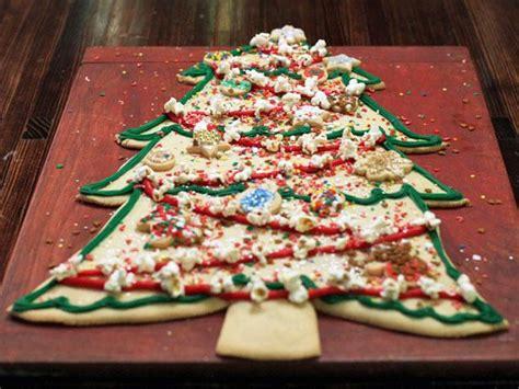 christmas tree saver recipe tree cookie cake recipe food network kitchen food network