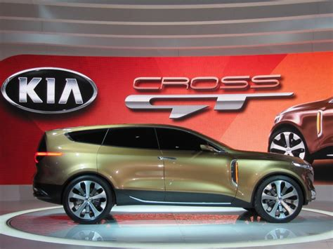 Kia Cross Gt Concept Preview Live Photos 2018 Chicago