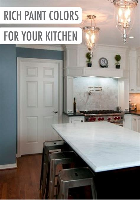 give your renovated all white kitchen a pop of color with behr paint in yacht blue an accent