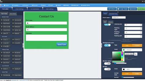 zigaform v3 0 how to create a form php form builder