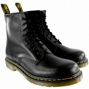 Mens Dr Martens 1460 Classic Retro Vintage Leather Lace Up Ankle Boots All Sizes eBay