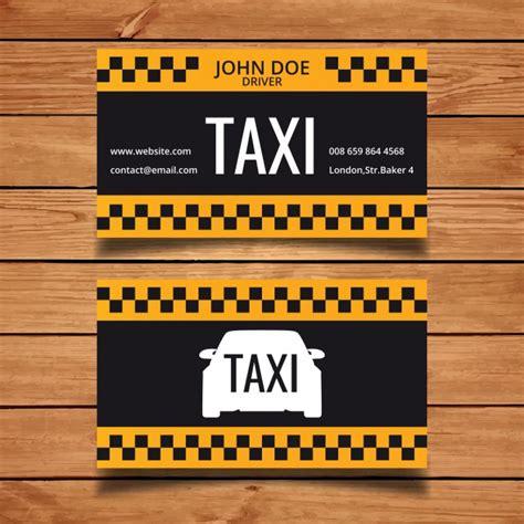 modele carte de visite taxi taxi mod 232 le de carte de visite t 233 l 233 charger des vecteurs