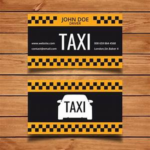 Taxi business card template vector free download for Taxi business cards templates free download
