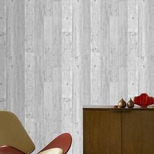 Papier Peint Effet Lambris : papier peint sur papier bois gris castorama ~ Zukunftsfamilie.com Idées de Décoration