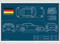 Porsche 997 GT3 RSR group GT2 2007 Racing Cars