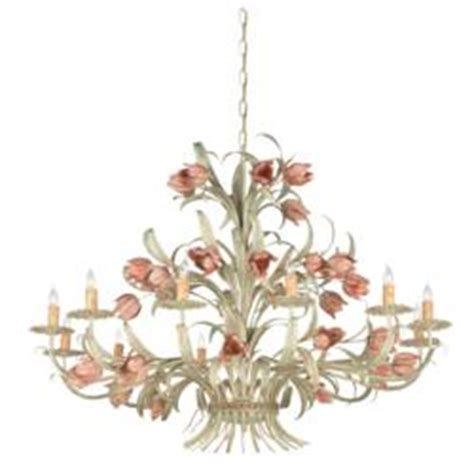 a selection of floral lighting fixtures to bring nature