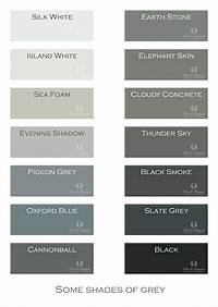 shades of grey color Shades Of Grey Colour Names – Ohio Trm Furniture