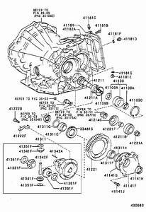 Toyota Corolla Manual Transmission Differential Bearing