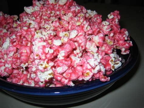 Candy Coated Popcorn Recipe
