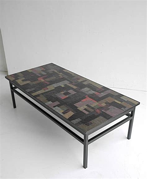 multi coloured table l pia manu multi colored glass art coffee table at 1stdibs