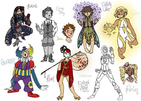 Another Worm Compilation, Yay! The Requested Characters