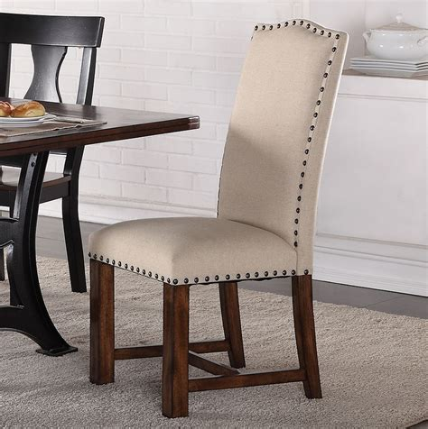 astor dining room set  upholstered chairs  crown mark