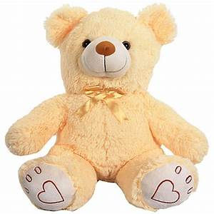Beige Bear Soft Toy-Online Shopping-