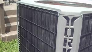 York Stellar Plus 3 5-ton Heat Pump Running In Cool Mode