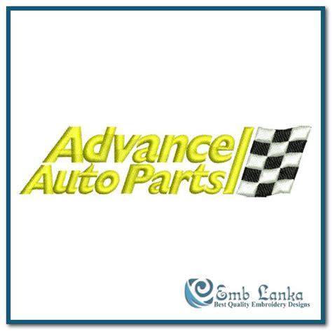 advance auto parts logo embroidery design emblankacom
