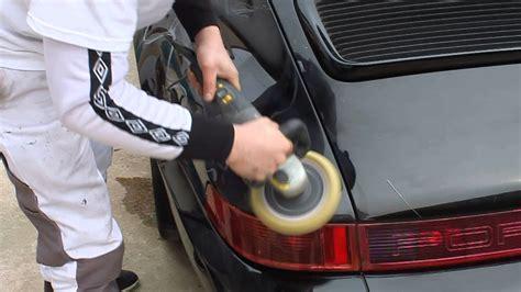 lustrer une voiture lustrage auto avec autonette
