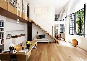Bureau Sous Escalier : design interieur am nagement sous escalier banquette ~ Farleysfitness.com Idées de Décoration