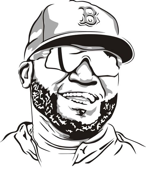 Boston Red Sox Free Coloring Pages