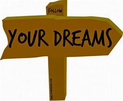 Dreams Dream Clipart Clip Achieve Follow Cliparts