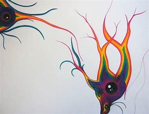 psychedelic eye | Annie's Art Blog