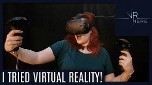I TRIED VIRTUAL REALITY - Daily Vlogs - YouTube