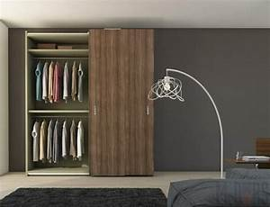 Kleiderschränke Aus Holz : kleiderschr nke mit schiebet ren 50 ideen f r einen praktischen und modernen kleiderschrank ~ Markanthonyermac.com Haus und Dekorationen