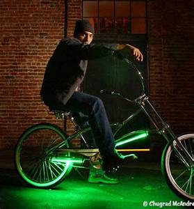 Neon Flood Lights For Bicycles The 'Down Low Glow Kit