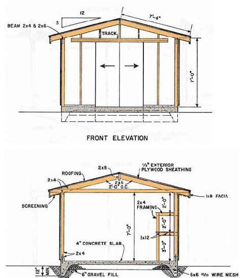 10x14 barn shed plans complete 10x14 gambrel shed plans free indr