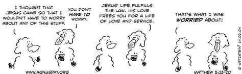 Lamp Under A Bushel by Agnusday Org The Lectionary Comic