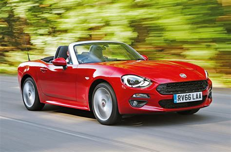Fiat 124 Spider by Fiat 124 Spider Review 2017 Autocar