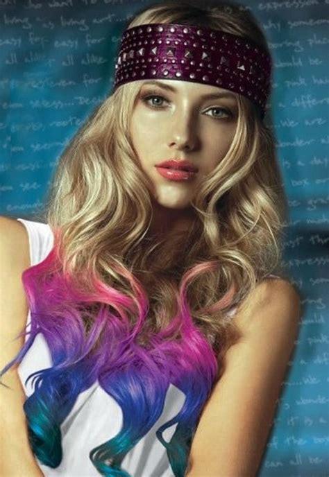 Splat Hair Color Dip Dye ♥ Dip Dye Hair Dipped Hair