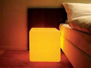 Table De Chevet Transparente : table de chevet lumineuse ~ Melissatoandfro.com Idées de Décoration