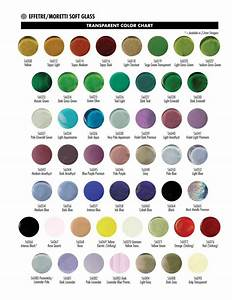 Northstar Color Chart Color Charts Mountain Glass Arts