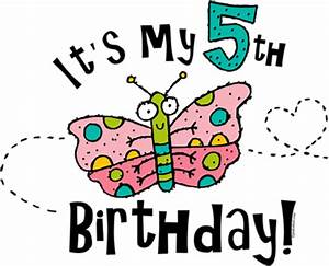 5th Birthday Clipart - Clipart Suggest