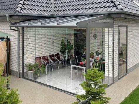 chiusure per verande in pvc chiusura veranda con vetri