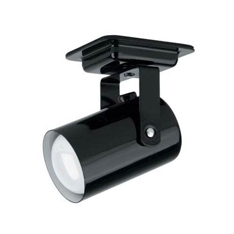 wall ls with cord lite source mini spot black one light directional spot