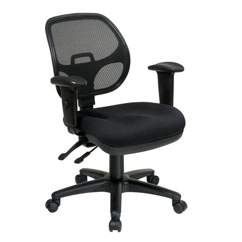pro line ii coal fabric office chair 29024 30 the home depot