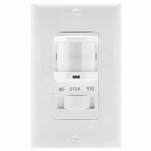 Topgreener Pir Motion Sensor Light Switch Occupancy Detector