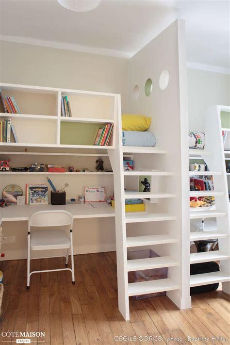 amenagement chambre mezzanine les 25 meilleures idées concernant lit mezzanine enfant