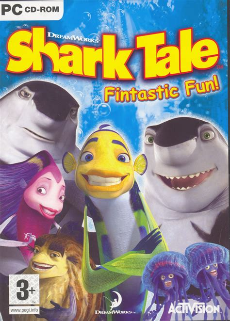 dreamworks shark tale fintastic fun  windows  mobygames