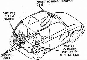 Where Is The Fuel Pump Relay Located On A 1989 Ford Festiva