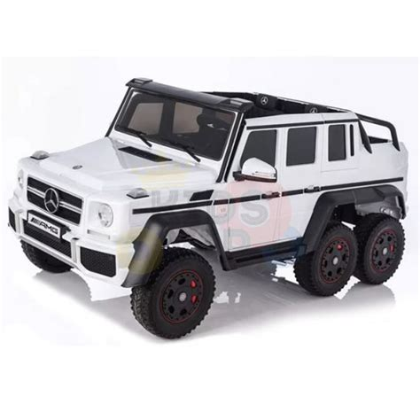 Again, if the factory won't make it, someone else will. Heavy Duty 12vLuxury 6x6 Mercedes G63 Ride on Car - White