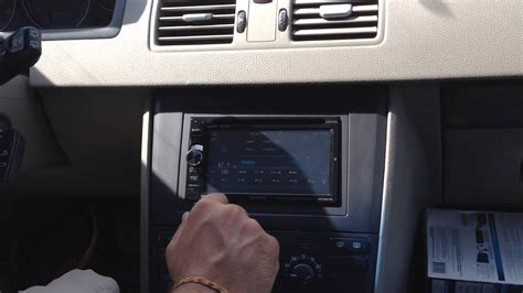 volvo xc aftermarket kenwood double din navigation youtube