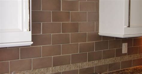 4x8 Subway Tile Backsplash by 4x8 Porcelain Tile With Glass Crackle Accent At
